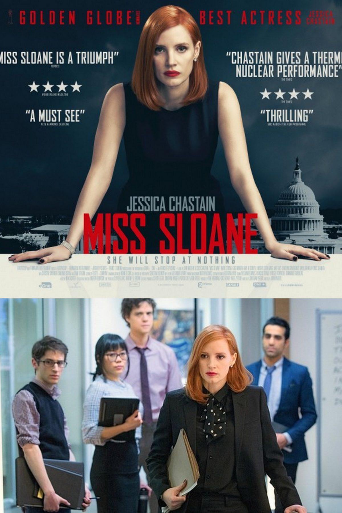 Miss Sloane: brutalny instruktaż polityki
