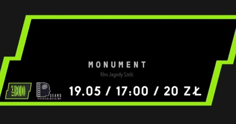 "Videorelacja ze spotkania z twórcami filmu ""Monument"""
